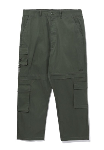 Fivecm green Loose cargo pants E32A8AACA12445GS_1