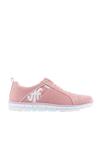 Royal Elastics 粉紅色 Zephyr 輕量休閒鞋 RO796SH0A5EITW_1