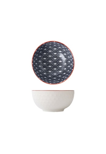 Table Matters multi Blue Wave - 4.5 inch Rice Bowl 06312HL9B4DB09GS_1