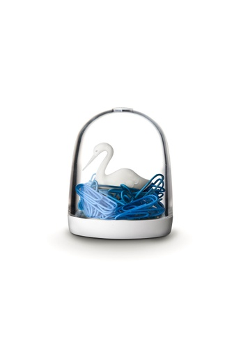 Qualy Qualy Swan in the Pond Paper Clip Holder 90377HL7049FADGS_1