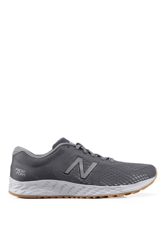New Balance grey Arishi V2 Fresh Foam Shoes EE061SHED66199GS_1
