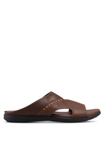 Louis Cuppers brown Faux Leather Sandals 718C7SH66C88AEGS_1