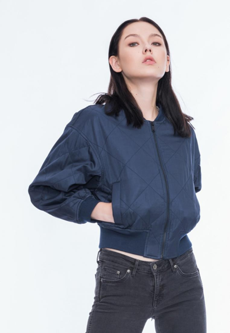 Aaliyah Blue Standard Steel Style Alpha Bomber a41qRWnw
