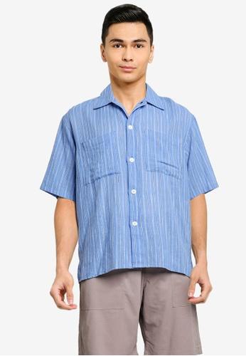 niko and ... blue Striped Shirt 0DB20AA6DE24F3GS_1
