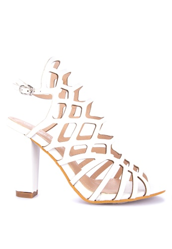 efad8d49384 Shop Rock Rose Gladiator Block Heel Sandals Online on ZALORA Philippines