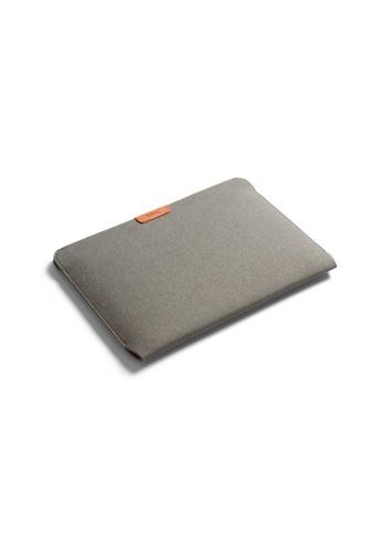 "Bellroy grey Bellroy Laptop Sleeve 13"" - Limestone 2DB67AC72A1FDAGS_1"