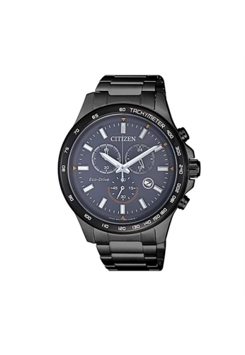 Citizen black CITIZEN ECO-DRIVE AT2425-80H BLACK STAINLESS STEEL MEN'S WATCH 6CF94AC29FA8EEGS_1