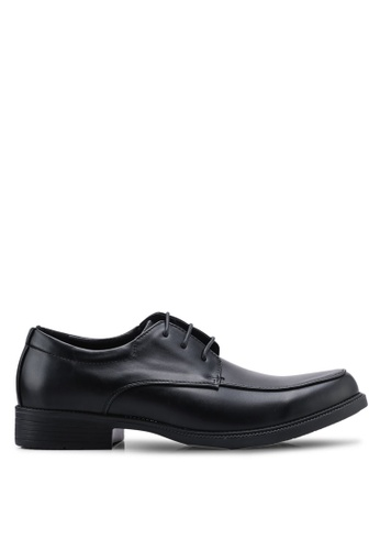 Louis Cuppers black Oxford Shoes 412B5SH6AEAC84GS_1