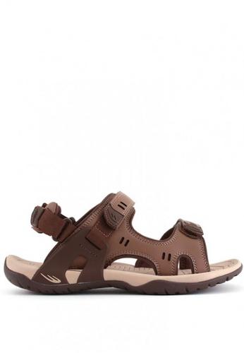 World Balance brown Terracotta MS Sports Sandals 2449ESHD2609A6GS_1