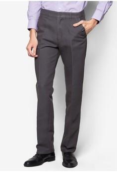 Buttoned Cotton Pants