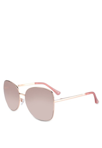 Call It Spring pink Yelille Sunglasses F824FGLC77DA56GS_1