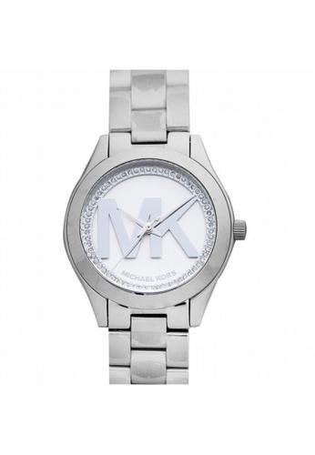 MICHAEL KORS [NEW] Michael Kors Mini Slim Runway Quartz Watch 33mm MK3548 17C36ACC4CBE11GS_1