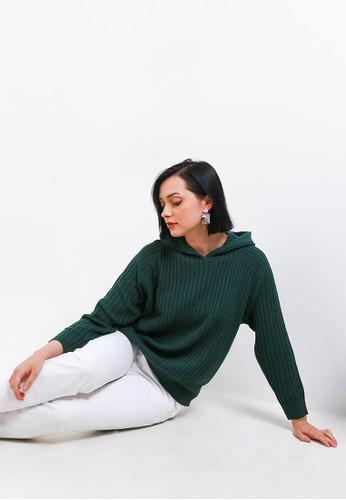 Peponi green Hoody Oversize Pullover 49FADAA385ECA7GS_1