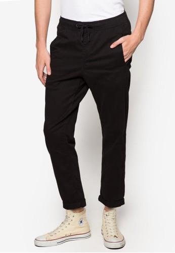 The Stanton 抽esprit分店繩彈性九分牛仔褲, 服飾, 直筒褲