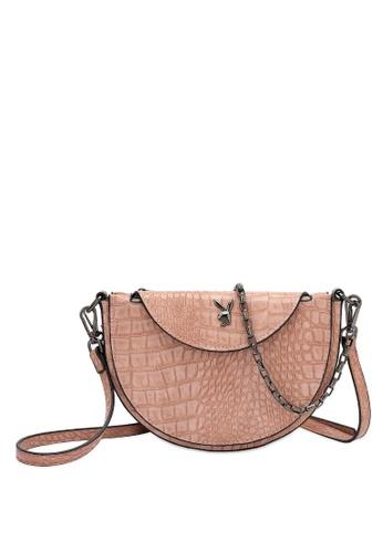 PLAYBOY BUNNY pink Playboy Bunny Chain Handle Sling Bag 5BFCDAC50CFBCCGS_1