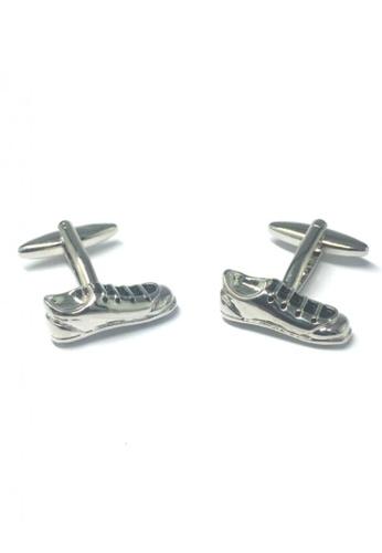 Splice Cufflinks silver Silver Soccer Boots Cufflinks  SP744AC66EMJSG_1