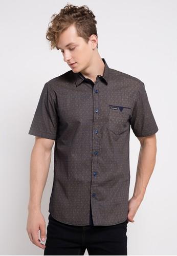 Cottonology brown Cooper Shirt CO081AA0UKLGID_1