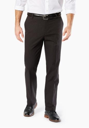 Dockers grey Dockers Signature Stretch Khaki Straight Pants Burma Grey A9EBCAA83F03DBGS_1