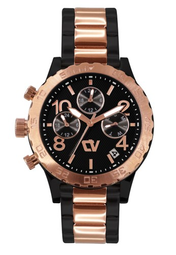 Christ Verra black Casual Women's Watches CV C 71090L-18 BLK 2AF57ACCB59837GS_1