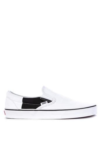 Vans multi Color Block Classic Slip-On Sneakers F4D81SHF51AD2EGS_1