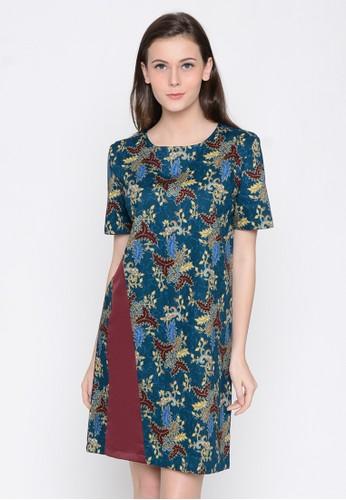 A & D green A&D Ladies Dress Batik Ms 960 - Multy AD532AA0VT1CID_1
