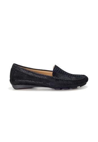 Shu Talk 黑色 AMAZTEP 大熱舒服真皮輕便鞋 (適合腳型偏闊) C68E1SH3BA209BGS_1