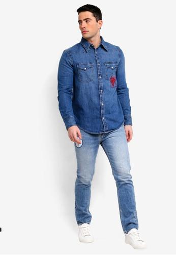 dad36450 Buy Calvin Klein Foundation Western Shirt - Calvin Klein Jeans | ZALORA HK