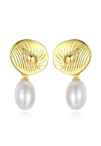 A.Excellence white Premium White Pearl Elegant Earring 2CB79ACA5A3A32GS_1