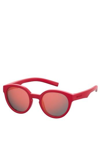 Polaroid Kids red PLD 8019/S/Sm Sunglasses 15AC8KCC33FAE0GS_1