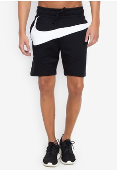 b834780ee21392 Nike black As M Nsw Hbr Shorts Ft Stmt DACB6AA95A8538GS 1