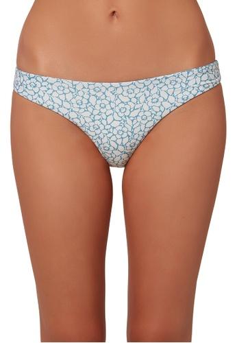 O'Neill blue O'Neill Rockley Barbara Revo Bikini Bottoms - Dark Cameo Blue 38C4BUS4C179BDGS_1