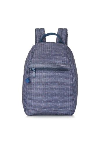 Hedgren blue Hedgren Women Vogue Backpack Small RFID Winter Craft Print - 5.87L 738AEACE102D45GS_1