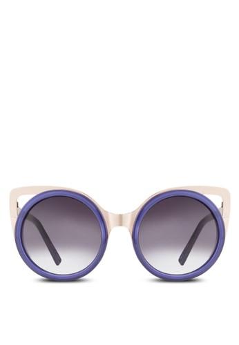 鏤空貓眼框太陽眼鏡esprit hk, 飾品配件, 飾品配件