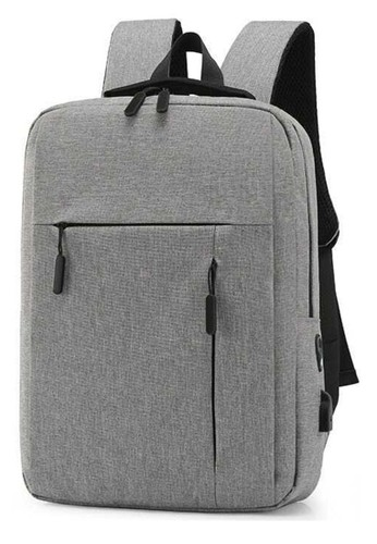 Hamlin grey Hamlin Barrack Tas Ransel Backpack Anti Maling Casual Schoolbag USB Charging Material Nylon ORIGINAL E20F1AC9A31771GS_1