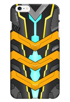 Mecha JD000 Glossy Hard Case for iPhone 6+