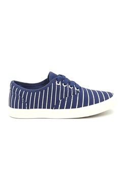 Stripes Canvas Sneakers