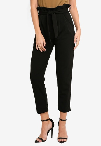 96e48f5dde455c Buy MISSGUIDED Paperbag Waist Trousers Online on ZALORA Singapore