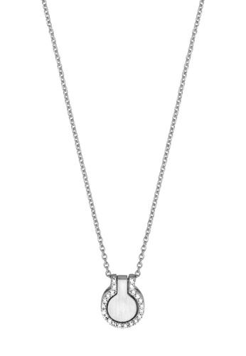 Esprit silver ESPRIT [Fuse] Silver Sterling Silver Necklace (42 cm + 3 cm extension) 604AFAC2922511GS_1