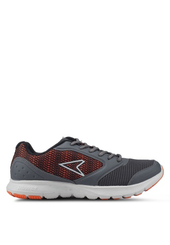 Power grey Wave Droid RMX Running Shoes 9A8EBSH03FB449GS_1