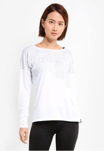 Odlo white Helle Long Sleeve Top BD3FAAA31CE85AGS_1