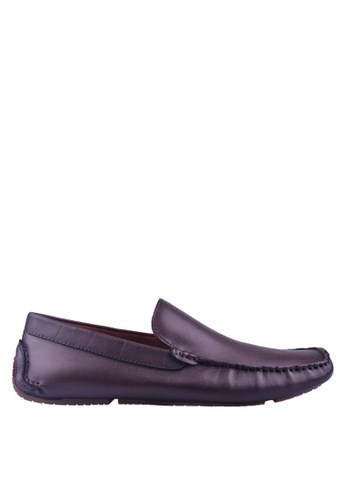 Hush Puppies brown Hush Puppies Barca Plain Loafer In Brown 9CEA7SHCCF0727GS_1