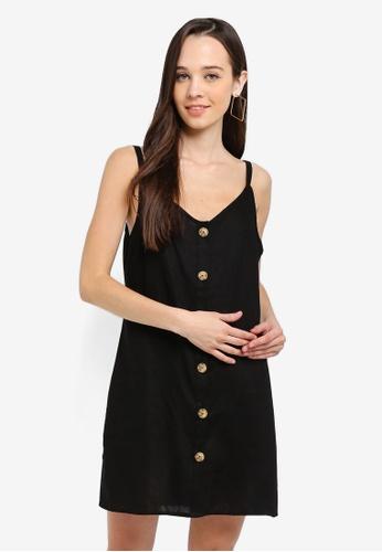 Cotton On black Woven Margot Slip Dress D9E18AA51A31F6GS_1