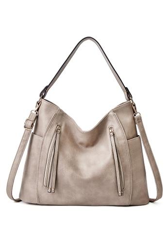 Halo beige Vintage Three Way Crossbody Bag 4E074ACF88222AGS_1
