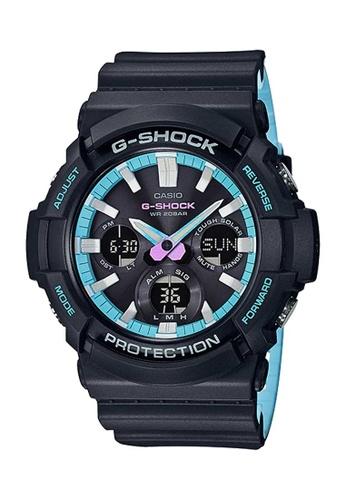 CASIO black Casio G-Shock Blue and Black Resin Watch 17650AC5453DEBGS_1
