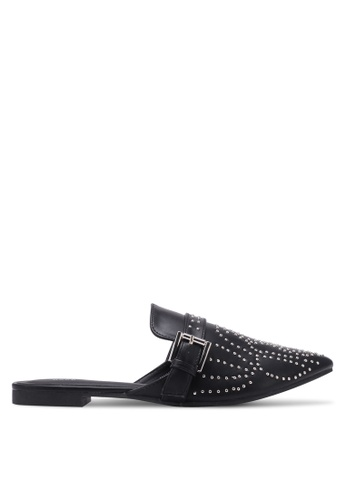 Nose black Flat Princetown Studded Mules NO327SH0S6UGMY_1