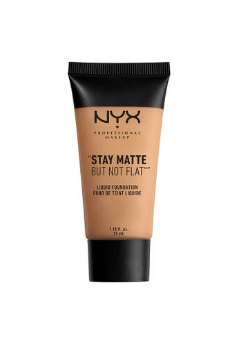 NYX Professional Makeup gold NYX Professional Makeup Stay Matte But Not Flat Liquid Foundation - GOLDEN BEIGE E9CD0BEAB5F3C6GS_1