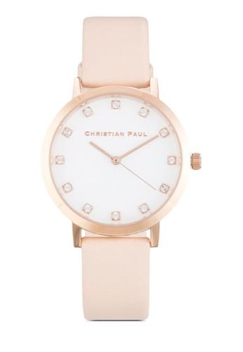 Bondi Luxe 3esprit香港門市5mm 豪華晶飾圓錶, 錶類, 飾品配件