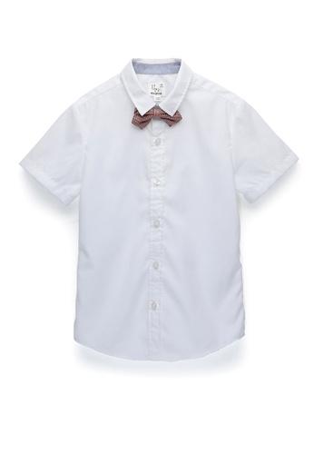 Kingkow white Cotton Shirt 6-12 years E2FA2KA7E8AEE6GS_1