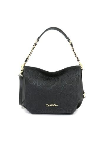 Carlo Rino black Carlo Rino 0304321-001-08 Shoulder bag (Black) C40B5AC49D449FGS_1