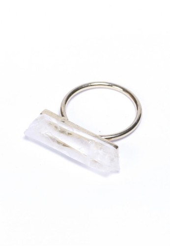 長條水晶戒指, 飾品配件,esprit hk 戒指